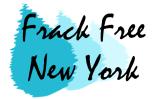 Frack Free New York Logo